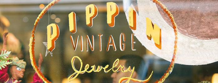 Pippin Vintage Jewelry is one of Gespeicherte Orte von TheFatAppleNYC.com.