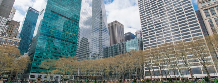Bryant Park is one of The Murray Hill List by Urban Compass.