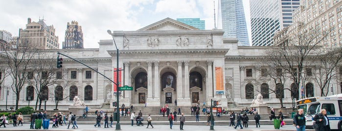 New York Public Library is one of The Murray Hill List by Urban Compass.