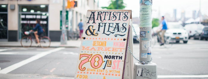 Artist & Fleas is one of Williamsburg.