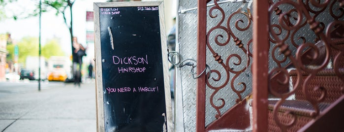 Dickson Hairshop is one of New York.