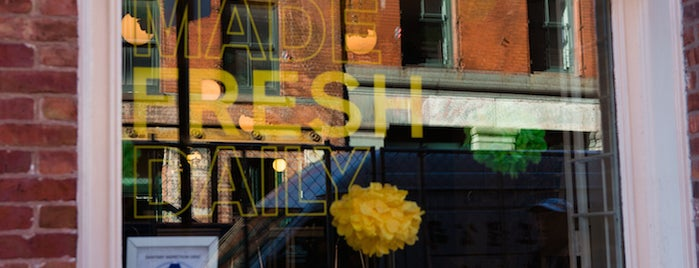 Made Fresh Daily is one of The Financial District List by Urban Compass.