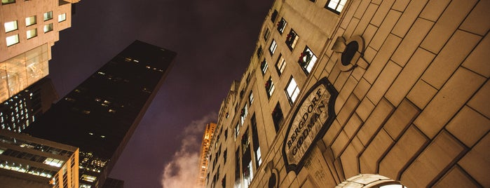 Bergdorf Goodman is one of The Midtown East List by Urban Compass.