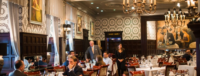 Delmonico's is one of The Financial District List by Urban Compass.