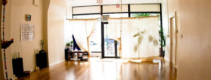 Usha Veda Yoga is one of The Greenpoint List by Urban Compass.
