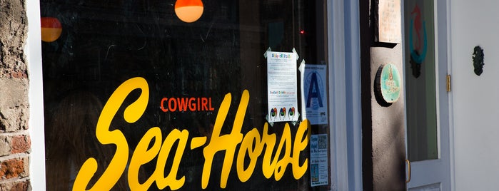 Cowgirl Seahorse is one of The Financial District List by Urban Compass.