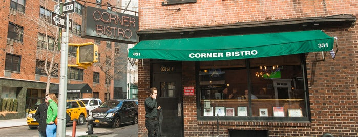 Corner Bistro is one of The West Village List by Urban Compass.