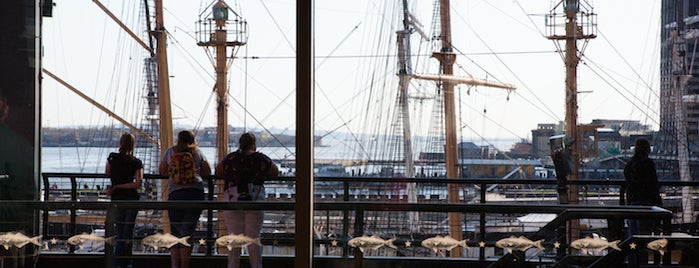 South Street Seaport is one of The Financial District List by Urban Compass.
