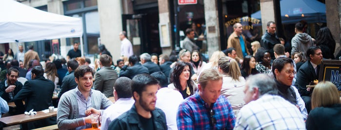 Stone Street Tavern is one of The Financial District List by Urban Compass.