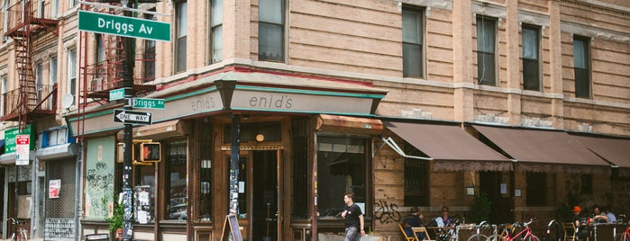 Enid's is one of The Greenpoint List by Urban Compass.
