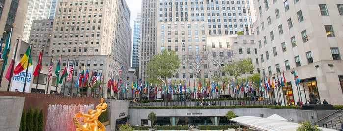 Rockefeller Center is one of The Midtown East List by Urban Compass.