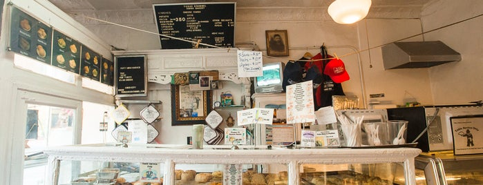 Yonah Schimmel Knish Bakery is one of New York 2014.