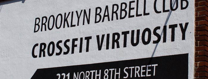 CrossFit Virtuosity is one of The Williamsburg List by Urban Compass.