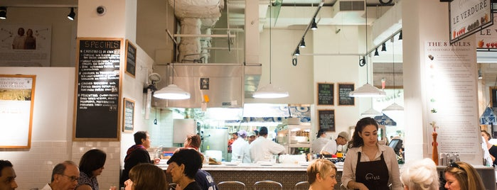 Eataly Flatiron is one of The Nomad List by Urban Compass.