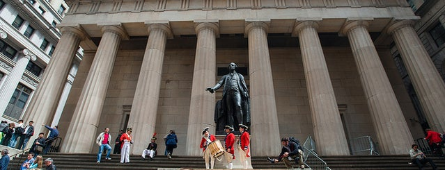 Federal Hall National Memorial is one of The Financial District List by Urban Compass.