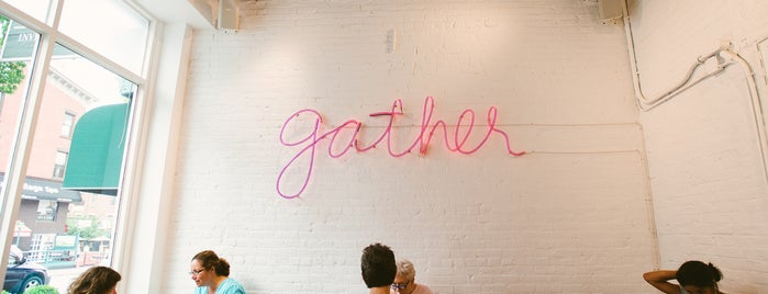 Gather is one of The Park Slope List by Urban Compass.