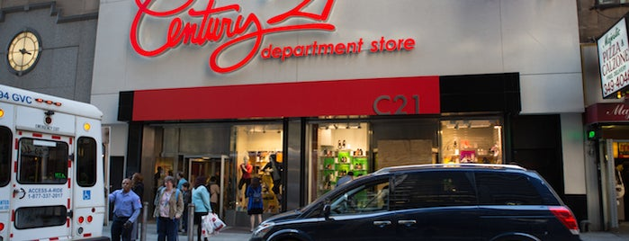 Century 21 Department Store is one of The Financial District List by Urban Compass.