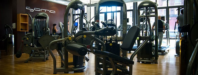 Soma Health Club is one of The Williamsburg List by Urban Compass.