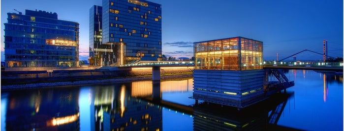 Hyatt Regency Dusseldorf is one of Hotels.