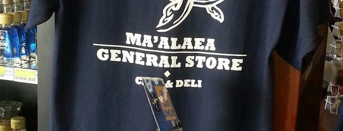 Ma'alaea General Store & Cafe is one of Maui places to check out.
