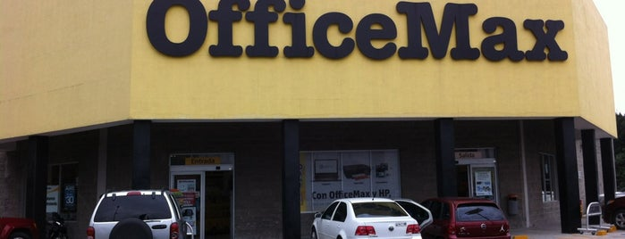 Office Max is one of Orte, die Maria gefallen.