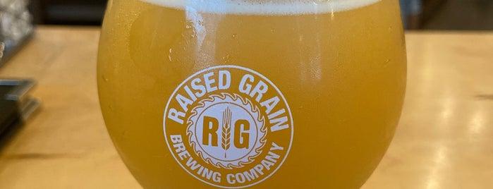 Raised Grain Brewing is one of Tempat yang Disimpan Brent.