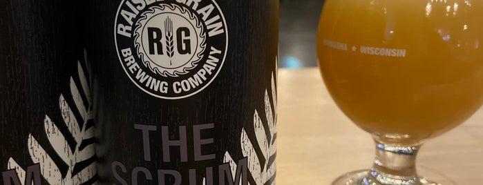 Raised Grain Brewing is one of Lieux sauvegardés par Brent.