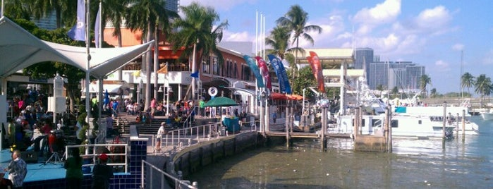 Bayside Marina is one of Lugares favoritos de Fernando.