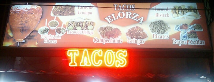 Tacos Elorza is one of Leonelさんのお気に入りスポット.