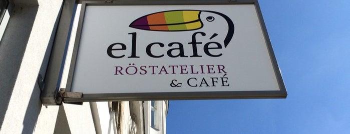 elcafé Röstatelier & Cafe is one of Lieux sauvegardés par Alexej.
