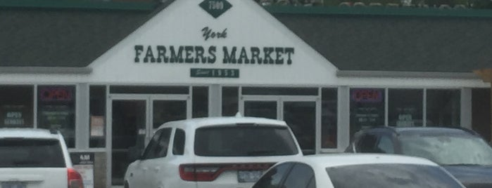York Farmers Market is one of GTA special provisions.