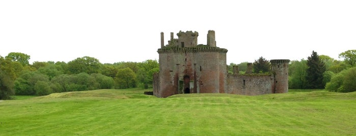 Caerlaverock Castle is one of Scotland.