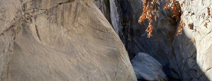 Tahquitz Canyon Waterfall is one of Palm Springs.