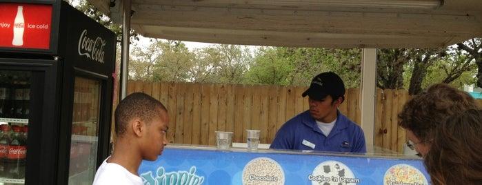 SeaWorld San Antonio Dippin' Dots by Shamu is one of SeaWorld San Antonio.