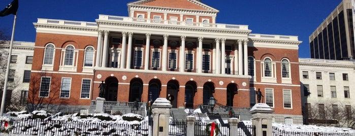 City of Boston is one of Boston.