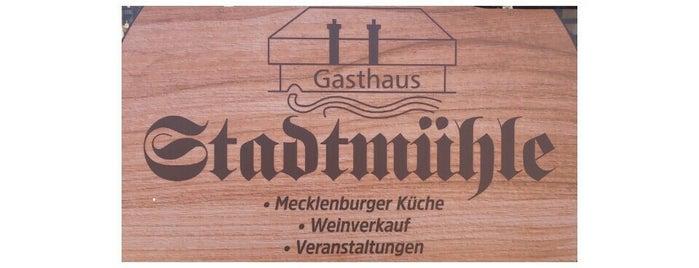 Restaurant Stadtmühle is one of Dominik : понравившиеся места.