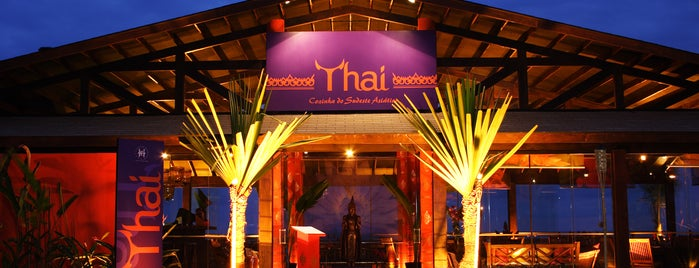 Thai Restaurante is one of Tempat yang Disukai Tuba.