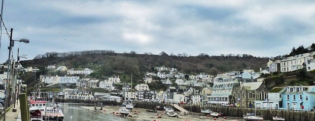 Looe Harbour is one of Cornwall.