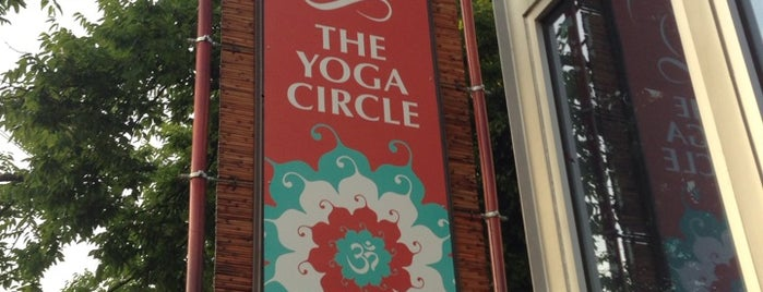 The Yoga Circle is one of Posti che sono piaciuti a Sarah.