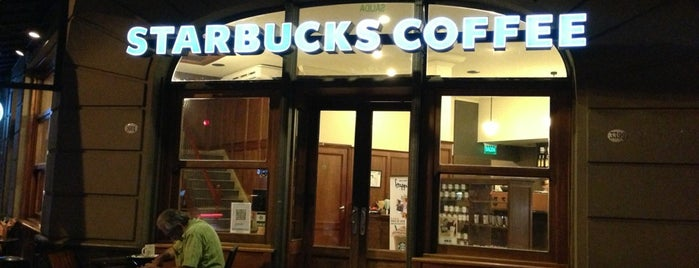 Starbucks is one of Locais curtidos por • marian •.