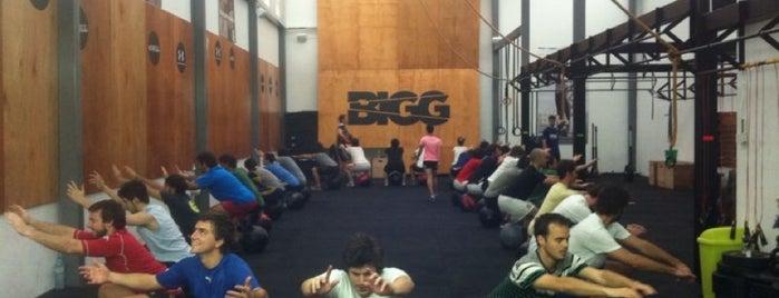 BIGG CrossFit Recoleta is one of Locais curtidos por Sabrina.