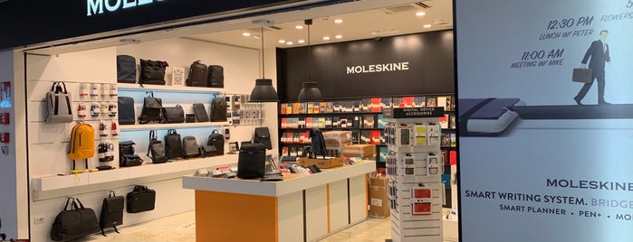 Moleskine Store is one of Rome.