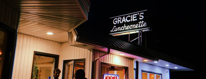 Gracie's Luncheonette is one of Hudson Valley - Restos/Sights to See.