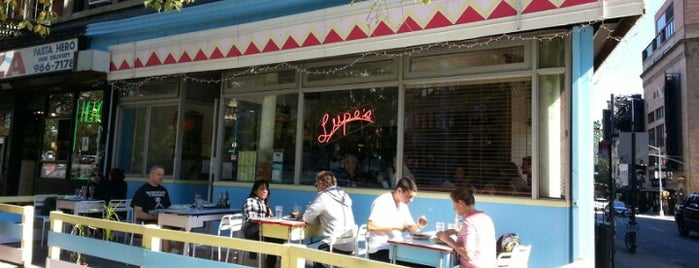 Lupe's East LA Kitchen is one of Manhattan.