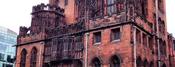 The John Rylands Library is one of Orte, die Bora gefallen.