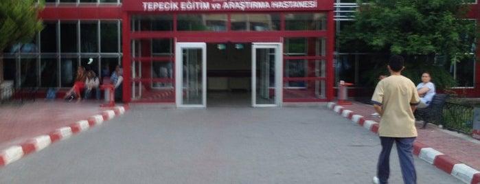 Tepecik Eğitim ve Araştırma Hastanesi is one of Kutay'ın Kaydettiği Mekanlar.