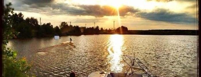 Humanoid Wake Park & Boat is one of Tempat yang Disukai Dotsenko_K.