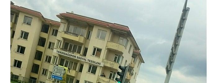 Tekirdağ Spor Kulübü Tesisleri is one of Emre : понравившиеся места.