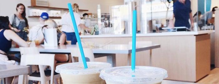 Blue Bottle Coffee is one of I love LA...we LOVE IT!.