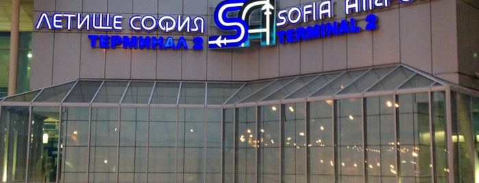 Aeropuerto de Sofía (SOF) is one of Airports Europe.